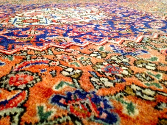 carpet from floor